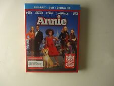 Annie (Blu-ray/DVD, 2015, 2-Disc, Ultraviolet) NEW w/slipcover Target