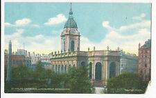 Warwickshire - Birmingham, St. Philips Cathedral.. - 1900's Star Series postcard