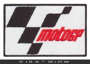 MOTO GP Aufnäher Patch Bügelbild Aufbügler Motorrad Racing Rennsport Motorsport