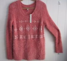 """WOMANS SWEATER """"LAUREN CONRAD"""" - SIZE M SOFT AND FUZZY (NEW WITH TAGS)"""