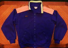 vtg Columbia Fleece Jacket 80s 90s Radial Sleeve NEON Mens L warm winter gear