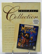 Monkey Island 2 - IBM PC BIG BOX europe French Français complete !!