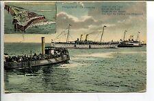 Frankierte Ansichtskarten vor 1914 mit dem Thema Schiff & Seefahrt