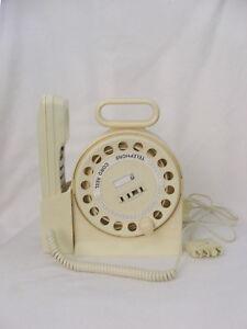 Vintage Retro Telecom Telephone & Extension Cord ~ Original Box & Instructions