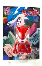 """2"""" Red Qee Fang Wolf Key Chain Tower Records Exclusive Toy2R Touma (NEW!)"""