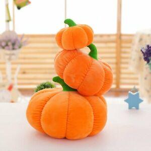 Halloween Party Pumpkin Cushion Pillow Plush Stuffed Doll Gift Pillow Home Decor