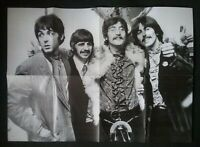 THE BEATLES : LARGE WALL POSTER OF THE BAND :  **(SEE DESCRIPTION AND PHOTO'S)**