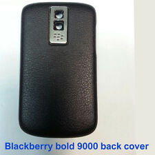 100% Genuine Blackberry Bold 9000 Back Battery Cover Fascia Housing - Black