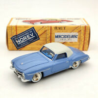 Norev 1:43 Mercedes Benz 190 SL Blue CL3511 Diecast Models Limited Collection