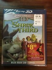 Shrek the Third (Blu-ray/Dvd, 2011, 2-Disc Set, 3D)