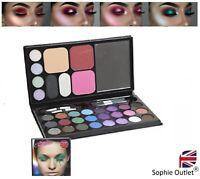 33 Colour WINKING EYE Shadow Ladies Make Up Set Cosmetic Eyeshadows 725012 UK