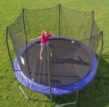 Skywalker Trampolines 12-Foot Trampoline, with Safety Enclosure, Blue - NEW