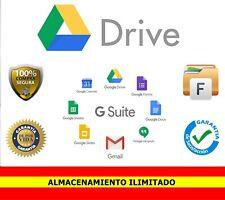 Google Drive ilimitado ✔️ Pago único - Para siempre ✔️ 100% SEGURO 🔒 TEAM DRIVE