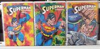 Superman Doomsday Hunter / Prey  1 2 3 Complete Set Series Run Lot 1-3 VF/NM
