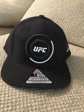 UFC Reebok Brazil Authentic Fighter's Snapback Adjustable Hat - Black - MMA BJJ