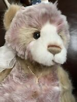 Charlie Bear Plush Collection Michelle NEW &TAGGED