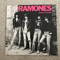 Ramones Rocket To Russia. Signed In 1978 Original Members VG+ Sleeve NM Vinyl