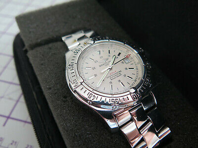 BREITLING Colt A17380 Date  Automatic Men's Watch - working fine.....