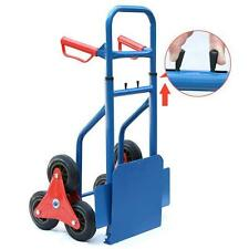 Heavy Duty Hand Truck 200kg Sack Barrow Trolley Six-wheeled Stair Climber Cart