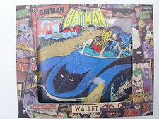 Cartera OFICIAL DC Batman con impresión vintage Exterior Nuevo Comics Batman Clásico