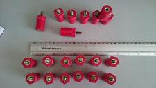 Lotto 20 Isolatori Colonnine Distanziatrici 400V 20x35mm M6 Spacing Stud Bolts