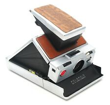 Vintage Polaroid SX-70 Land Camera Alpha 1 Tan & Snakeskin (Spares) - UK Dealer