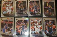 2019-20 NBA Hoops Premium Stock Bol Bol RC Murray Denver nuggets 8 card lot