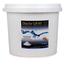 Diaclor Cloro Choque rápido para piscinas - Grano - envase de 5 kg