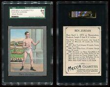 1910 T220 Champions Ben Jordan (Silver Border) SGC 84 NM Cert #1246298-001