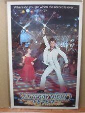 Saturday night Fever John Clemente movie  Vintage Poster Inv#1980