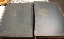 1899 Our Islands and Their People, Volume 1 & 2, w/ pressed leaves, flowers