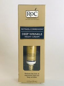 RoC Retinol Correxion Deep Wrinkle Night Cream  1 oz New In Box