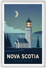 NOVA SCOTIA - JUMBO FRIDGE MAGNET - CANADA CANADIAN HALIFAX BAY OF FUNDY