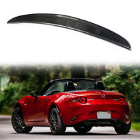 Carbon For Mazda MX5 ND 4th Convertible Rear Boot Trunk Spoiler 2018 RF