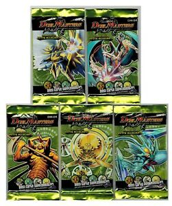 Duel Masters DM-04 Lot 5 Packs Artwork Set Italian Ed.