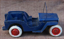 Jeep Red Cross Wooden Tole Toy Western Front 1945