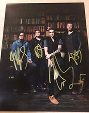 The Best Day Of My Life AMERICAN AUTHORS Complete Band Signed 11x14 Photo