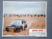 Safari 3000 movie lobby card poster original vtg 1982 David Carradine race car
