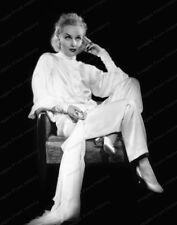 8x10 Print Carole Lombard Beautiful Seated Portrait 1934 #5501459