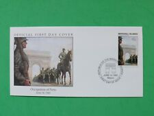 1990 Marshall Islands 1940 Occupation of Paris Stamp cover SNo42732