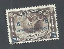 CANADA SOCKED-ON-NOSE CANCEL GREAT BEAR LAKE NWT SCOTT C4 VF USED (BS19600)