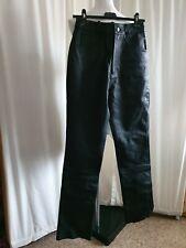 IXS Motor Cycle Sportswear Bikers Leather Trousers Size 40