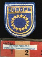 PATCH EUROPE CIRCLE OF STARS COLLECTIBLE TRAVEL SOUVENIR 59ZZ ex