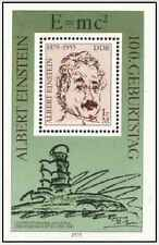 Timbre Personnages Einstein RDA Allemagne BF51 ** lot 19005