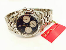 NEW TUDOR Rolex MONARCH 15903, 38mm, CHRONOGRAPH Stainless Steel