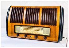 Radio d'Epoca a Valvole RADIOMARELLI 10A55 Made in Italy  1949 Funzionante