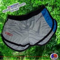 NEU RETRO FITNESS SHORTS _L_SPORTHOSE - running Pants Laufhose Sprinter Hose