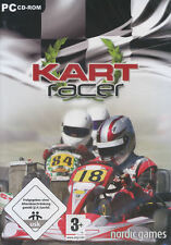 KART RACER Go Cart Rotax XP-Vista PC Game NEW in BOX!