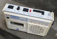 Ancien Radio Cassette Recorder Vintage ITC