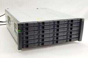 Netapp DS4243 NAJ-0801 LFF SAS 24-Bay 4U Storage Shelf Disk Array 2*IOM3 4*PSU